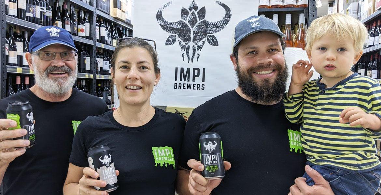 Who Brews Impi Beers?