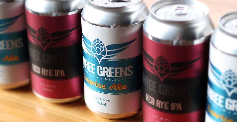 Who Brews Three Greens Beers?