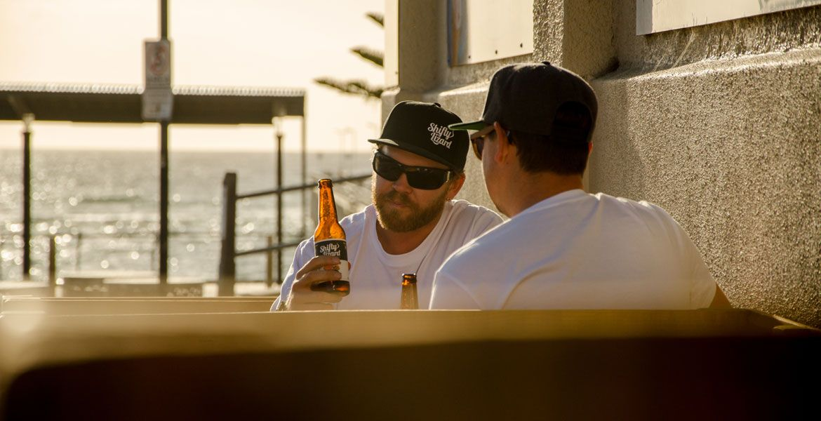 Who Brews Shifty Lizard Beers?