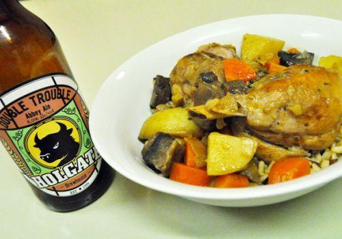 Beer & Food: Double Trouble Chicken