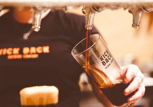 Who Brews Kick Back Beers?