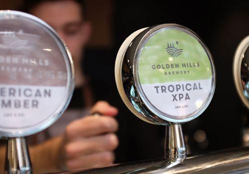 Who Brews Golden Hills Beers?