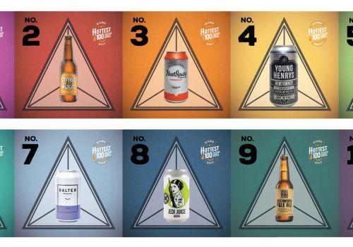 Hottest 100 Aussie Craft Beers of 2017: Infographic