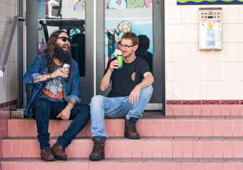 Oscar & Glenn: Rocker, Skater, Brewers