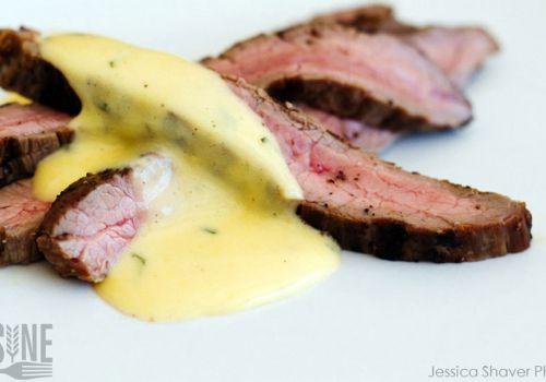 Beer Food With Beersine: Steak with Beernaise Sauce