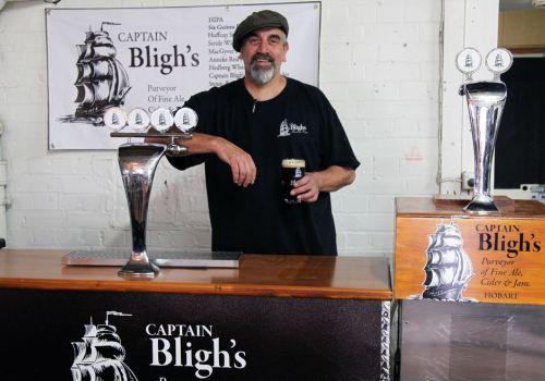 Who Brews Captain Bligh's Colonial Ale?