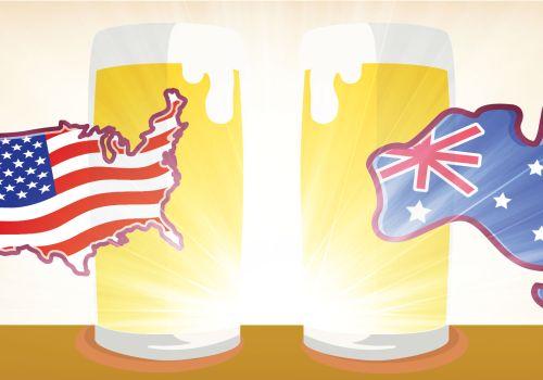 Infographic: American & Australian Craft Beer Timeline