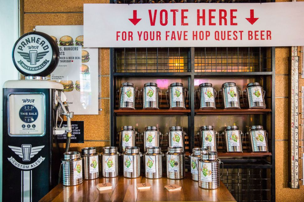 Hop Quest 2020 at Beer DeLuxe Fed Square (VIC)